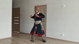 Мастер-класс по разучиванию основных элементов мужского танца в башкирской народной хореографии
