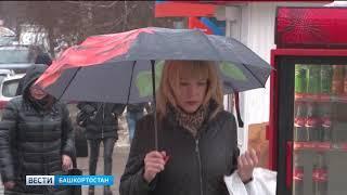 Пасмурно и дождливо: погода в Башкирии 8 апреля