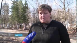 Более пятидесяти могил на Южном кладбище Уфы затопило талыми водами