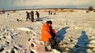 Первая зимняя рыбалка 2019.И такие рыбалки бывают.СНЕГОПАДЫ