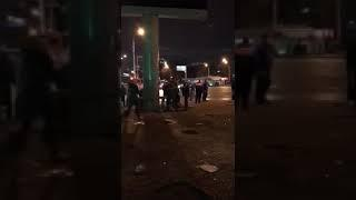В Уфе пассажирский автобус попал в ДТП. 10 человек госпитализировано