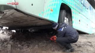 Последствия ДТП в Илишевском районе Башкирии. Видео LifeNews