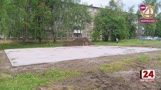 В 13-ти дворах появятся современные детские площадки