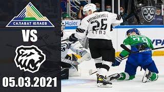 САЛАВАТ ЮЛАЕВ - ТРАКТОР (05.03.2021)/ ПЛЕЙ-ОФФ КХЛ/ KHL В NHL 20! ОБЗОР МАТЧА