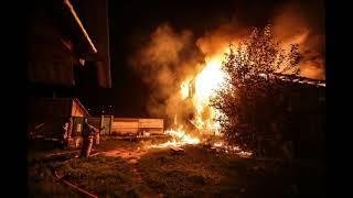 Дом под Уфой сгорел полностью из за того, что пожарным не хватило воды