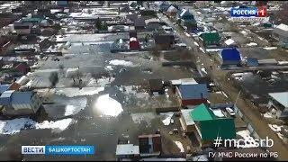 Жители уфимской Максимовки сообщают о подтоплении их домов
