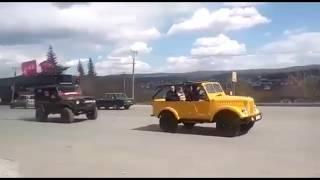 День победы 9 мая #автопробег 2018 г.Белорецк часть 2