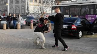 Алан и Байна. Уличные танцы.Стерлитамак,Туса Джуса