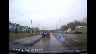 Чудак чуть не устроил массовое ДТП на перекрестке, г.Давлеканово.
