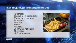 Опрос: чаще всего уфимцы заказывают доставку курицы, картошки и бургеров