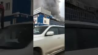 Пожар: говорит автосалон Daewoo в Уфе