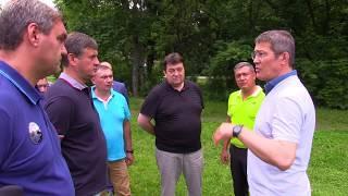 Глава городского округа Красногорск Радий Хабиров рассказывает о планах  в Нахабино