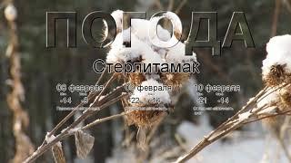 Погода в Стерлитамаке сегодня 8 февраля 2020. На завтра, неделю