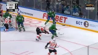 Салават Юлаев - Авангард 3-я игра playoff переломный момент и все голы Салавата Юлаева