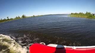Рыбалка.Озеро Белое.