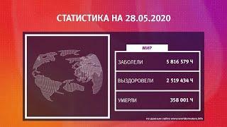 UTV. Коронавирус в Башкирии, России и мире на 28 мая 2020. Плюс опрос уфимцев