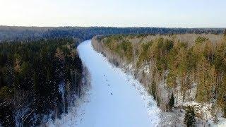 Снегоходное путешествие по реке Чусовая. Снегоходный тур по Чусовой. Маршрут на снегоходах по Уралу