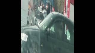 Страшная авария на Речицком проспекте. Столкнулись легковушка и фура