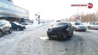 В аварию попали сразу три автомобиля