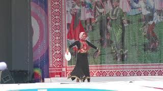 Красивый башкирский танец с подносом Ханская дочь - башкирский народный танец