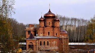 Как строился Храм в Благовещенске РБ