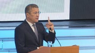 """UTV. """"Время байства прошло"""". Радий Хабиров рассказал, какой должна быть власть в Башкирии"""