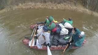 Сплав по реке Инзер 2018