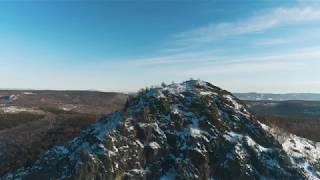Гора Арвякрязь с высоты птичьего полета / Наш Урал