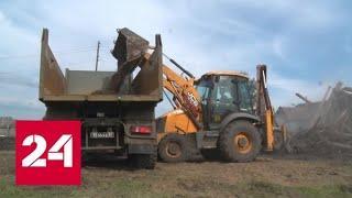 Вода уходит из затопленных иркутских городов - Россия 24