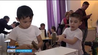 В Сибае воспитанников детских садов учат делать скворечники