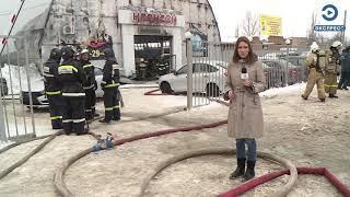 В Пензе в автосалоне сгорели 23 машины