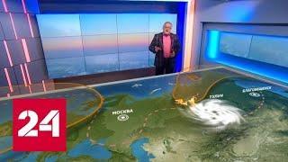 Прогноз на август: космическая аномалия продолжит влиять на погоду - Россия 24
