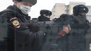 23 ЯНВАРЯ В МВД назвали число участников несанкционированной акции в центре Москвы