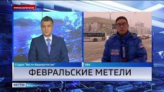 ❄Из-за снежной бури на дорогах Башкирии произошло больше 40 ДТП