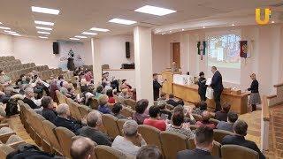 Новости UTV. Чествование заводчан, отдавших предприятию десятки лет.