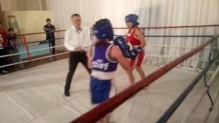 Бокс девчонок абзелил против баймака