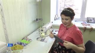Антивирусный тренд: умельцы Уфы взялись за пошив защитных масок