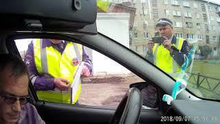 ИДПС г.Учалы ,инспектор Салимов С. Нарушение приказа №664 МВД ,пункт 38