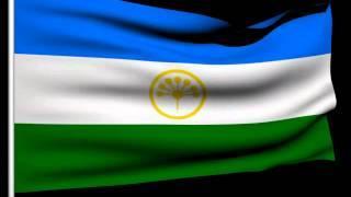 Флаг Республики Башкортостан с титрами