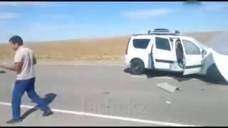 ДТП  с пострадавшими  на трассе Актау-Бейнеу