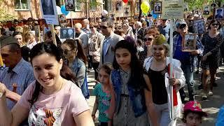Бессмертный полк 2019 г  Октябрьский Башкортостан