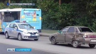 В Башкирии произошло несколько аварий с участием мотоциклистов
