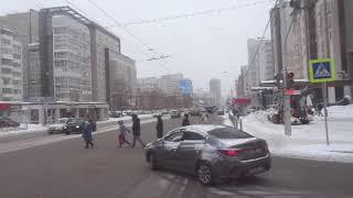 russia  уфа башкирия россия город прогулка улица ленина исторический центр города 5 марта 2021 г