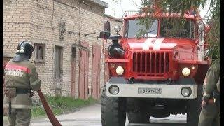 Пожар в здании администрации Нязепетровска