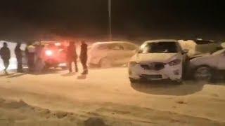 Массовое дтп в Башкирии