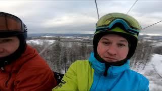 Белорецк, Абзаково, Банное. Зимний горнолыжный отпуск 2019