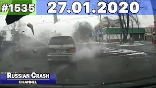 ДТП. Подборка на видеорегистратор за 27.01.2020 Январь 2020