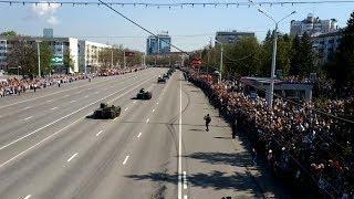 Шествие военной техники в Уфе