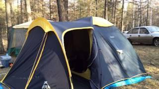 Кемпинговая палатка CAMP Nagoa IV фото видео обзор
