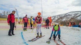 ISMF European series Kamchatka race 2017. (ски-альпинизм Камчатка).